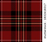 Red  Black And Brown Plaid....