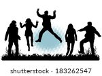 party people  | Shutterstock .eps vector #183262547