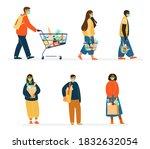 vector set of different...   Shutterstock .eps vector #1832632054