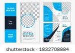 trifold brochure creative...   Shutterstock .eps vector #1832708884