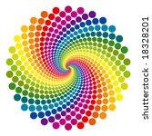 Rainbow Vortex Vector...