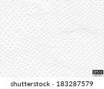3d volume wireframe   eps10... | Shutterstock .eps vector #183287579