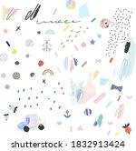 abstract creative header.... | Shutterstock .eps vector #1832913424