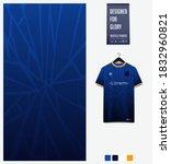 fabric pattern design. geometry ... | Shutterstock .eps vector #1832960821