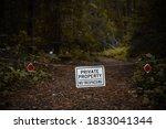 Private Property No Trespassing ...