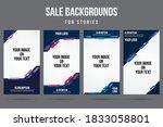 trendy editable abstract... | Shutterstock .eps vector #1833058801