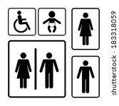 accessible,baby,bathroom,black,boy,chamber,closeup,design,disable,door,female,fresh,gender,gentleman,girl