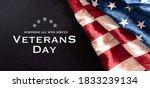 Happy Veterans Day Concept....