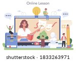 drama class online service or...   Shutterstock .eps vector #1833263971