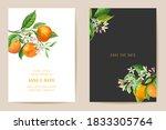 wedding invitation card ... | Shutterstock .eps vector #1833305764