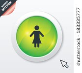 female sign icon. woman human...