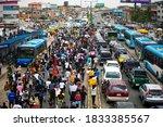 Lagos Nigeria   October 12 2020 ...