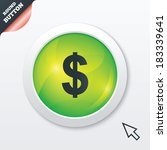 dollars sign icon. usd currency ...