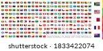 postage flag set  national...   Shutterstock .eps vector #1833422074