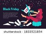black friday  seasonal offers.... | Shutterstock .eps vector #1833521854