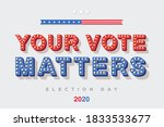 Your Vote Matters Vector...