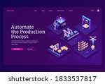 automate production process... | Shutterstock .eps vector #1833537817