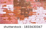 Texture Of Old Colored Bricks....