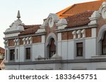 Neoclassical Facade From An...