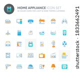 color vector icons related to...   Shutterstock .eps vector #1833662491