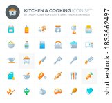 color vector icons related to...   Shutterstock .eps vector #1833662497