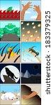 vector illustration of the ten...   Shutterstock .eps vector #183379325