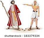 vector illustration of pharaoh... | Shutterstock .eps vector #183379334