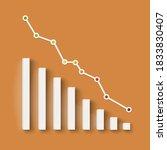 abstract financial chart....   Shutterstock .eps vector #1833830407