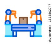 manufacturing automatic... | Shutterstock .eps vector #1833862747