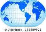 world map | Shutterstock .eps vector #183389921
