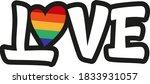love hand drawn vector...   Shutterstock .eps vector #1833931057