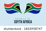 south africa flag state symbol...