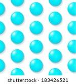 blue circle seamless pattern   Shutterstock .eps vector #183426521
