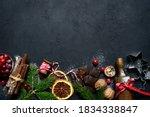 Christmas Baking Background...