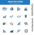analysis icons on white... | Shutterstock .eps vector #183439631