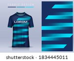 fabric textile for sport t... | Shutterstock .eps vector #1834445011