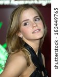 Постер, плакат: Emma Watson at HARRY