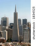 view of san francisco downtown... | Shutterstock . vector #1834525
