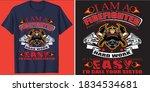i am a firefighter because don...   Shutterstock .eps vector #1834534681
