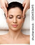 spa woman. close up of a... | Shutterstock . vector #183453695