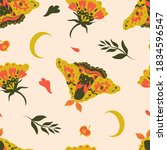 Cute Autumnal Pattern In...