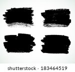 vector illustration of grunge... | Shutterstock .eps vector #183464519