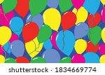 seamless pattern. festive...   Shutterstock .eps vector #1834669774