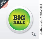 big sale sign icon. special...