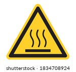 warning signs  be careful of... | Shutterstock .eps vector #1834708924