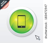 smartphone sign icon. support...