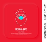 Santa Claus In Surgical Mask ...