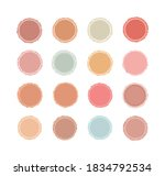covers icons pastel girly theme ... | Shutterstock . vector #1834792534
