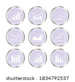 stories covers icons graph stats | Shutterstock . vector #1834792537