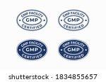 good manufacturing practice ... | Shutterstock .eps vector #1834855657
